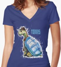 TORDIS Women's Fitted V-Neck T-Shirt