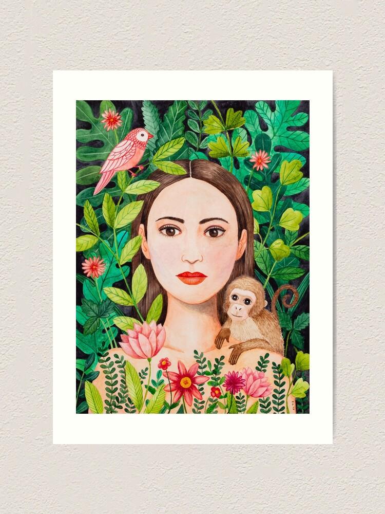 Alternate view of Jungle Art Print