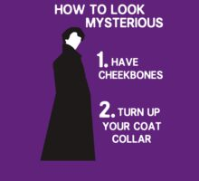 How to look mysterious