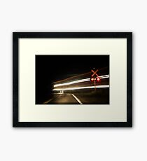 Back to the Future ...Again Framed Print