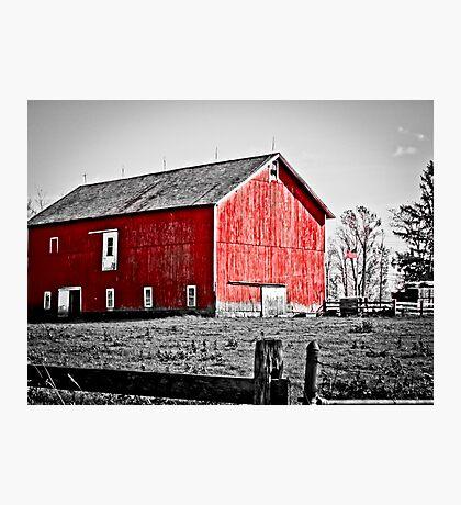 Bainbridge Barn Photographic Print