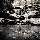 Hocking Hills - Upper Falls  by Marcia Rubin