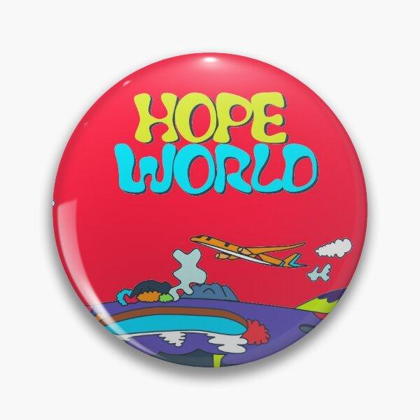 J-Hope Hope World Album Art Pin