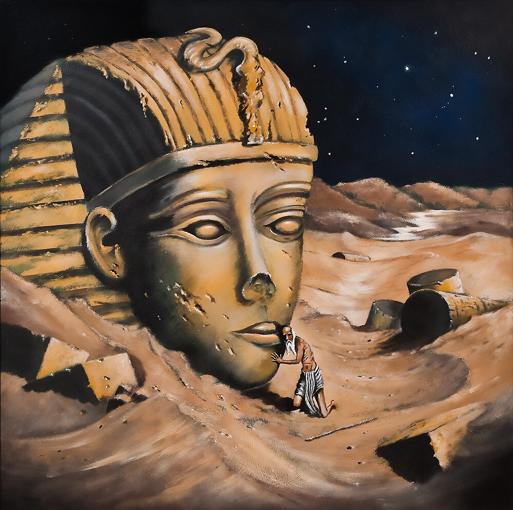 QUESTIONING THE SPHINX by Thomas Andersen