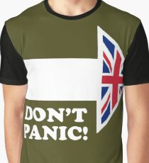 Don't Panic - Arrow Graphic T-Shirt