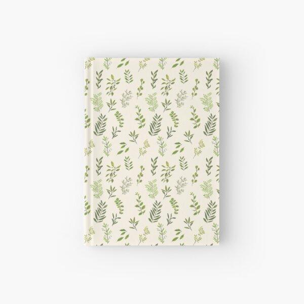 Leaf Pattern Hardcover Journal