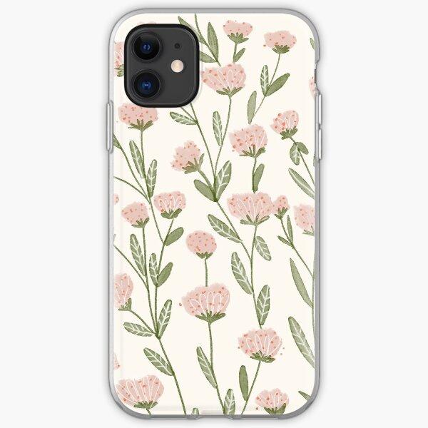 Roseraie printanière Coque souple iPhone