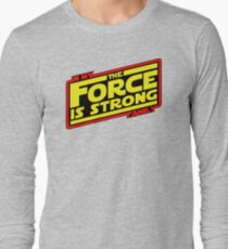 The force is strong... Retro Empire Edition Long Sleeve T-Shirt