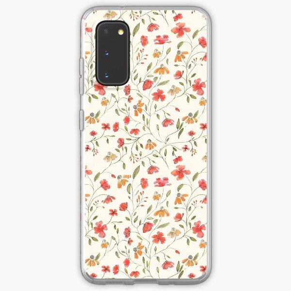 Vintage floral print Samsung Galaxy Soft Case