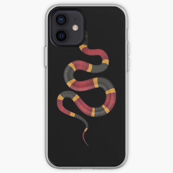 Serpiente de leche Funda blanda para iPhone
