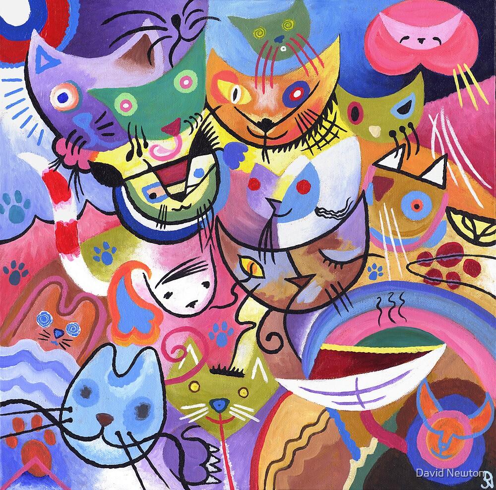 Kandinsky S Cats