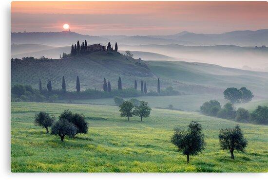 Tuscan Morning by Martin Rak