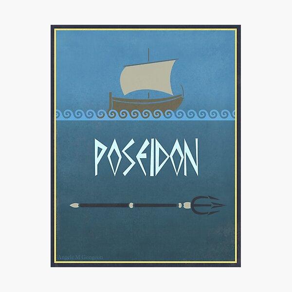 Poseidon Photographic Print