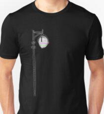 Street Lamp Glowing Unisex T-Shirt
