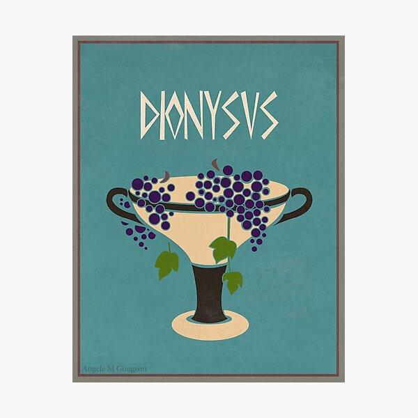 Dionysus Photographic Print