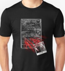 deadbunny asylum - admittance form T-Shirt