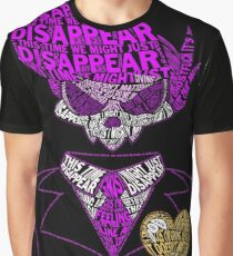 Mystery Skulls Typography Graphic T-Shirt