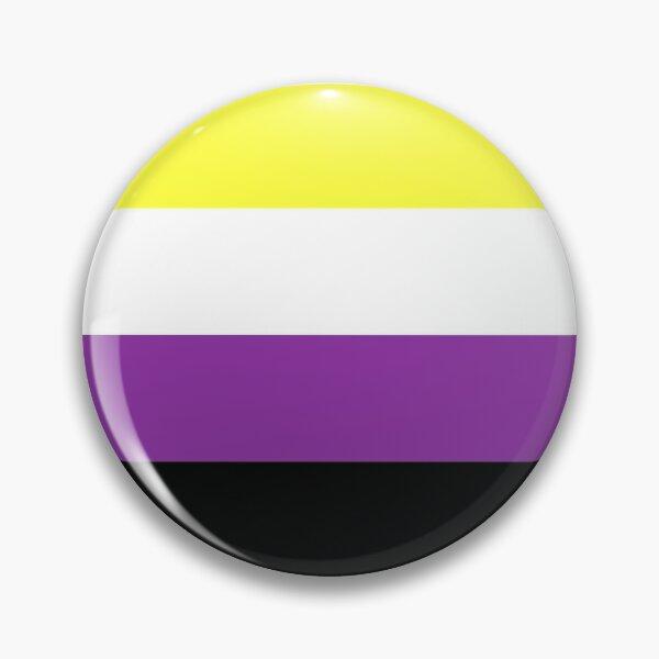 Nonbinary Flag Pin