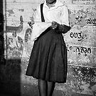 Girl portrait II by Mark Smart