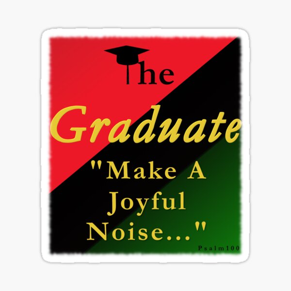 The Graduate Series 1 Sticker