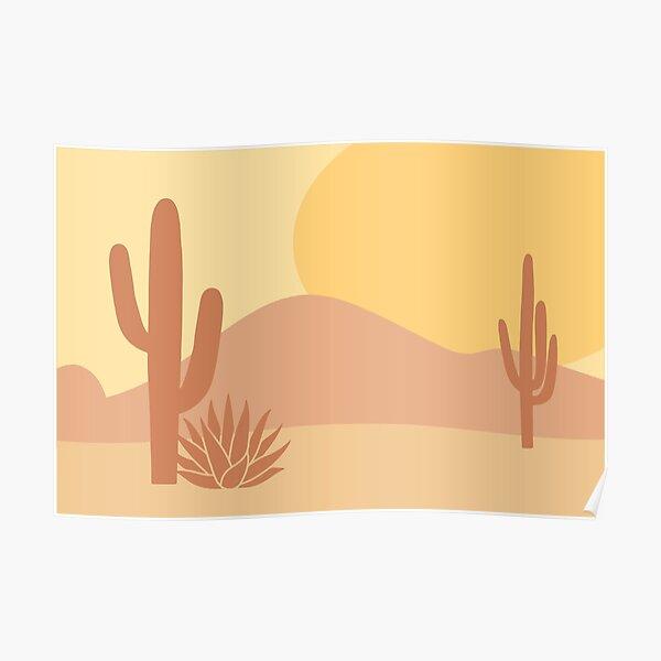 Neutral Desert Poster