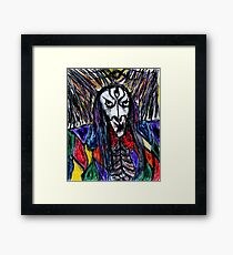 Arch Mage of Havoc's Grace Framed Print