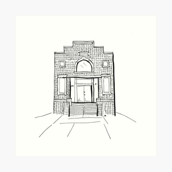 2020 03 05 building  Art Print