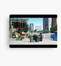 Lego Bodyguards 3 Canvas Print