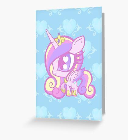Weeny My Little Pony- Princess Cadence Greeting Card
