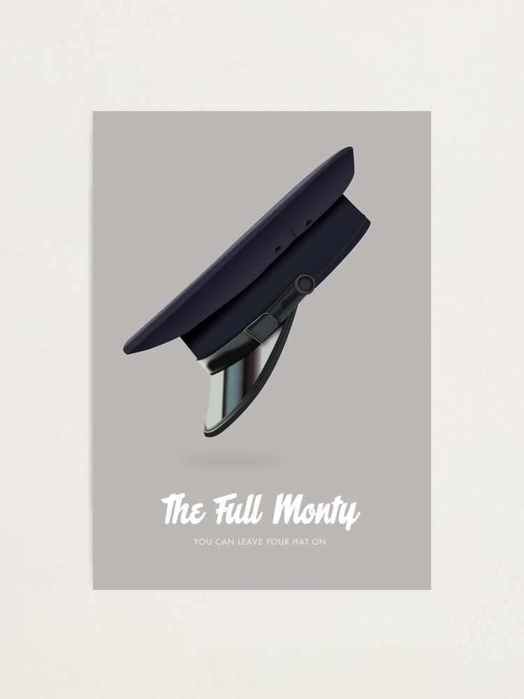 Alternate view of The Full Monty - Alternative Movie Poster Photographic Print