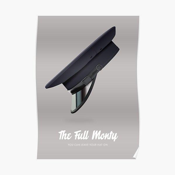 The Full Monty - Alternative Movie Poster Poster