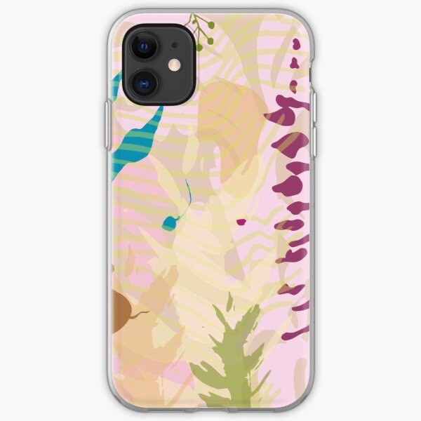abstract soft rose underwater world iPhone Soft Case