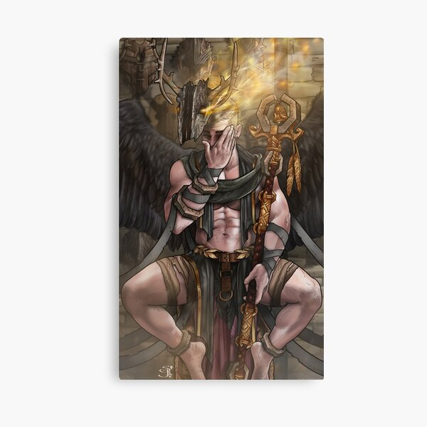 Lord of Many Faces Canvas Print