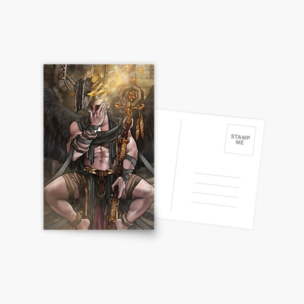 Lord of Many Faces Postcard