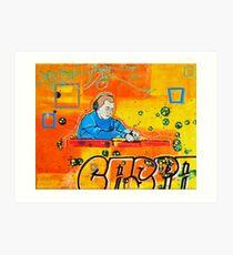 Caspa Art Print