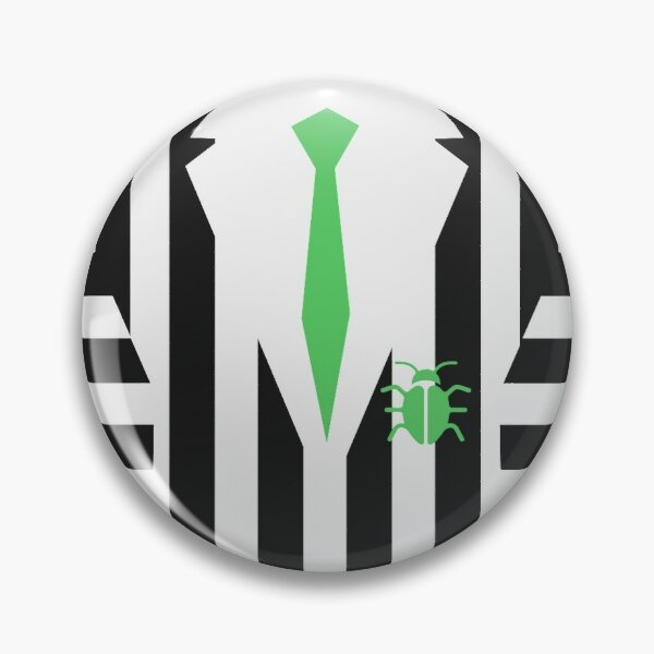 Tenue Beetlejuice Badge