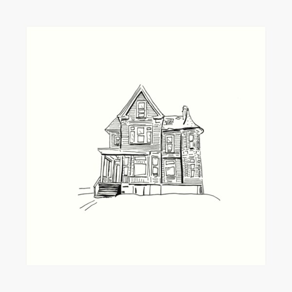 2020 03 27 buildings  Art Print