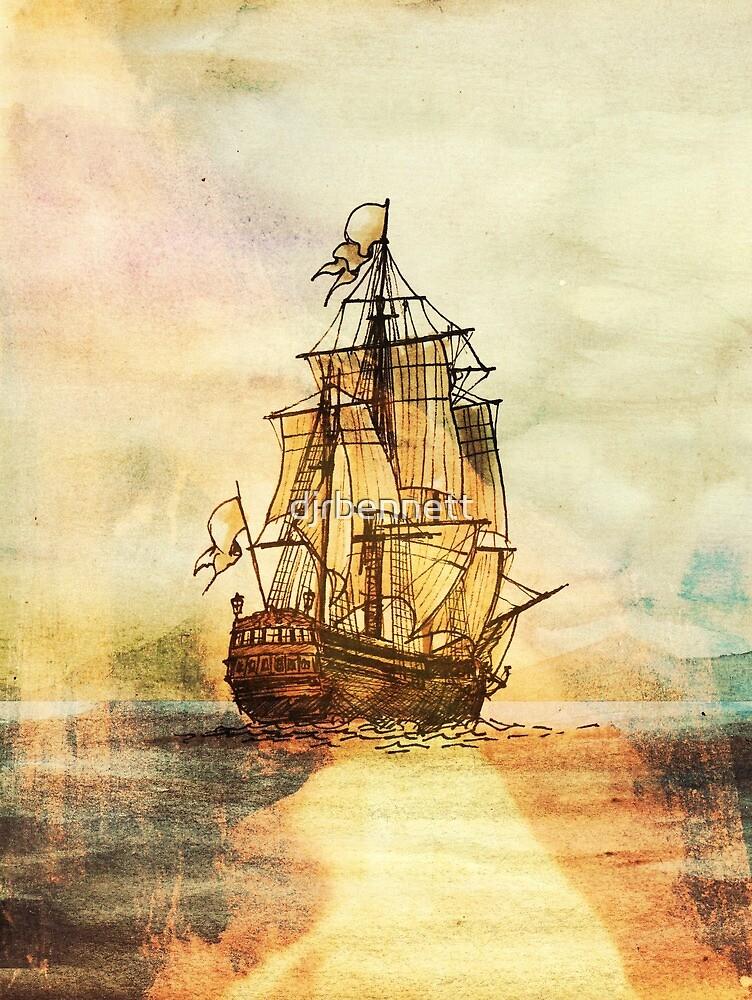 Sunset Sailing by djrbennett