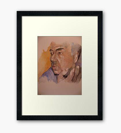 Fr.Joe Borg Framed Print