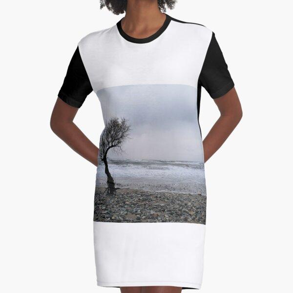 Cretan Beach  Graphic T-Shirt Dress