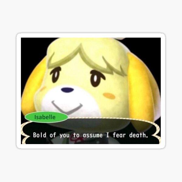 Animal Crossing Meme Stickers Redbubble