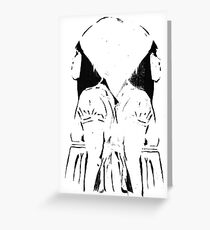 In Two Minds Greeting Card