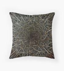 Dream Of Prickly Wild Fractal Wonderland Throw Pillow