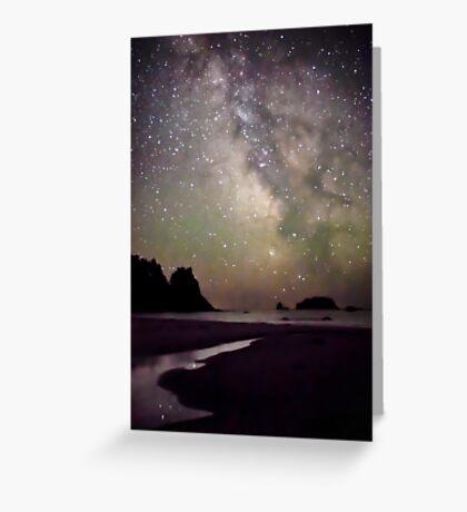 Milky Way Greeting Card