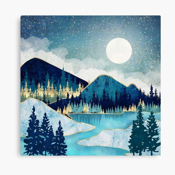 Morning Stars Canvas Print