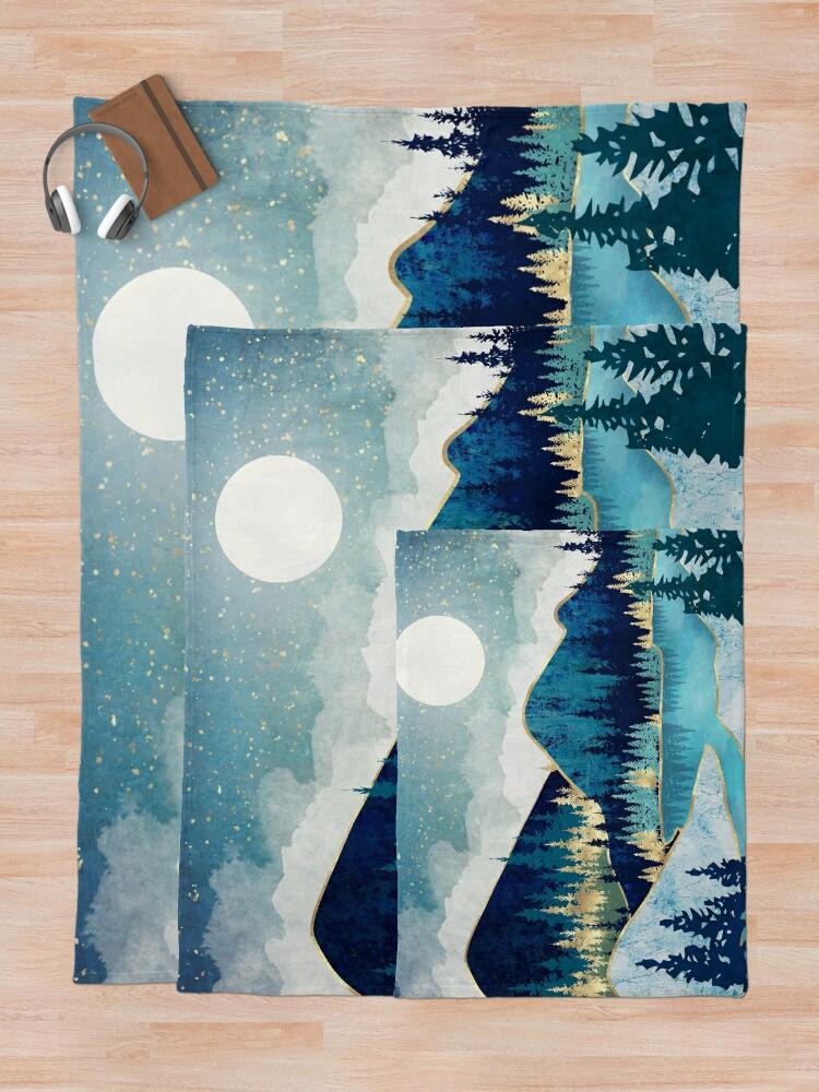 Alternate view of Morning Stars Throw Blanket