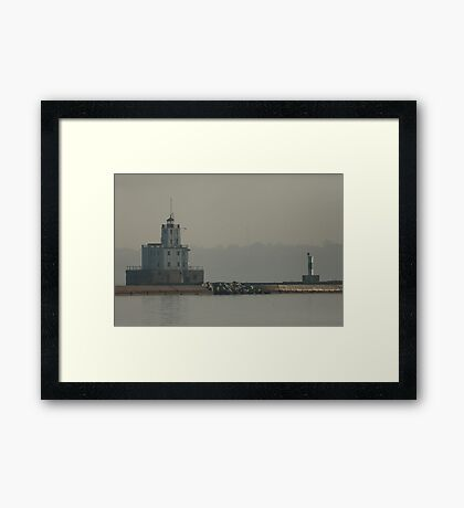 Communication  Framed Print