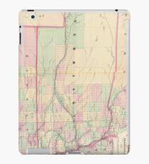 Vintage Map of Nebraska (1874) iPad Case/Skin