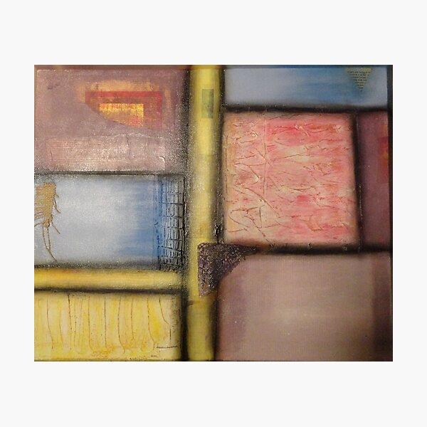 Pastel Blocks Photographic Print