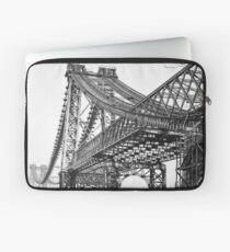 Funda para portátil Vintage Photograph of the Williamsburg Bridge